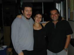 Luz Valbuena y Diego Yepes y Pablo Garriga