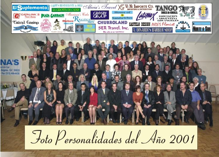 La Foto del Año 2001