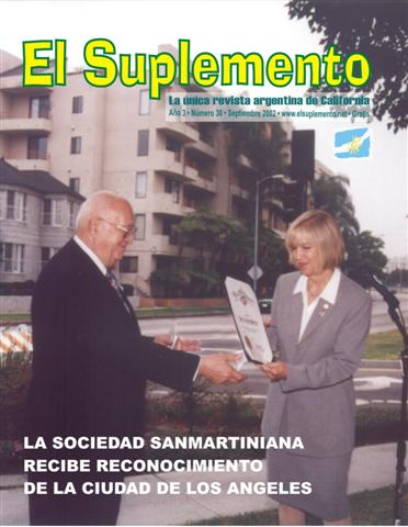 EMOTIVO HOMENAJE AL GENERAL SAN MARTIN TRIBUTADO FRENTE A SU MONUMENTO