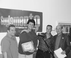 Pablo Garriga, Lucio Arce, Saverio M. Mangione y Oscar I. Márquez