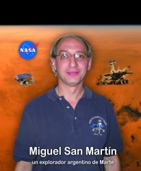 Miguel San Martín. Un argentino en el proyecto m.e.r.