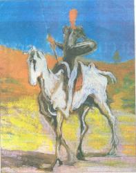 Los personajes varoniles que acompañan a don Quijote y Sancho Panza: El Refrán 24° parte