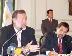 Declaraciones del Canciller Rafael Bielsa