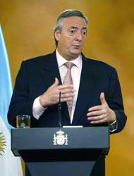El gobierno de Kirchner