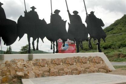 Monumento al gaucho en Salta