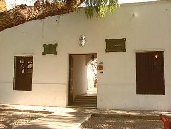 Su casa natal en San Juan