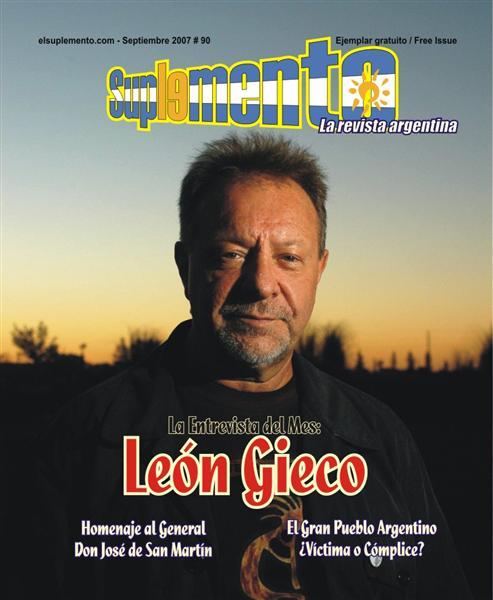 Nota de Tapa: León Gieco