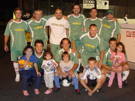 El equipo de fútbol de Futbolmanía