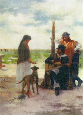 El payador de Angel Della Valle