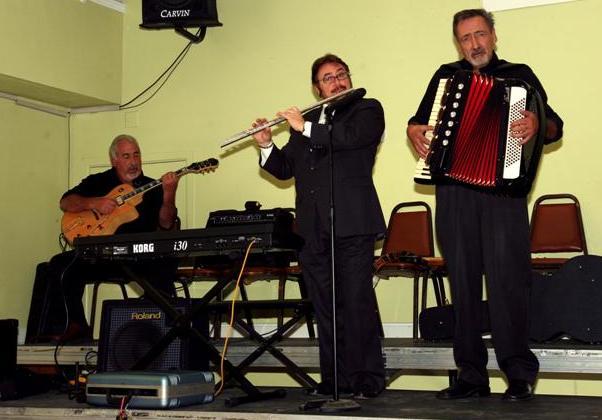 Oscar Lomuto, Pablo Goldstein y Franc Camara