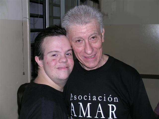 con el Profesor Carlos Rodríguez Robert