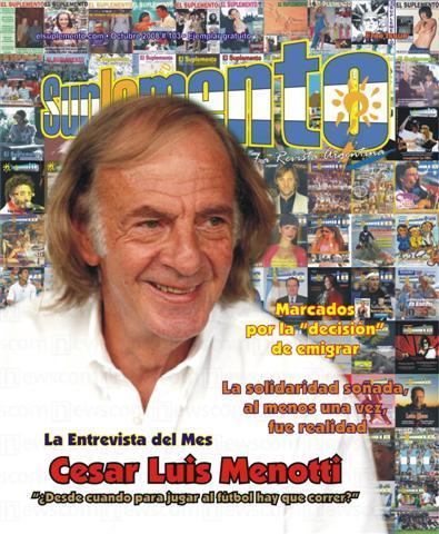 La Entrevista del Mes: César Luis Menotti