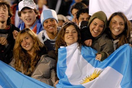 Sabrina Funes y sus amigas. Foto: Patrick Liotta