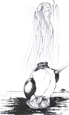 Dibujo: Angelo Calamera