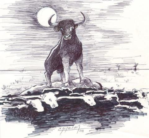 El Toro Yacu, Leyenda de Santiago del Estero