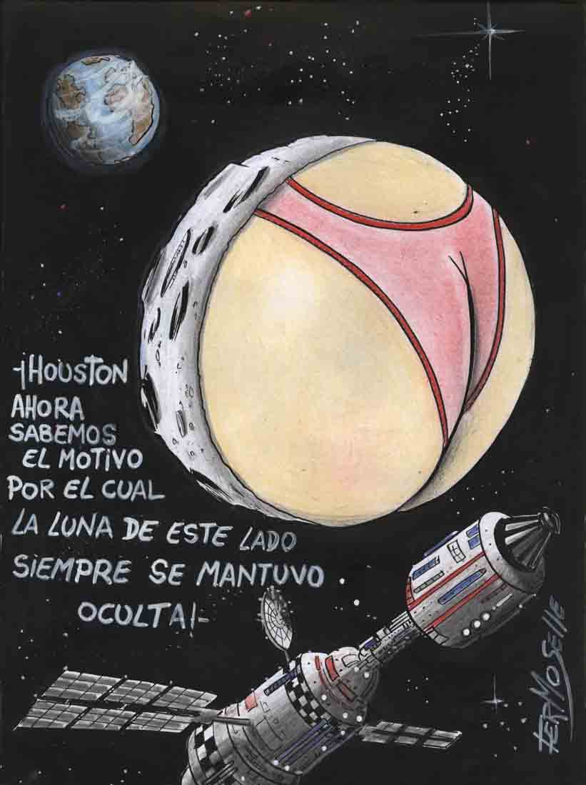 Dibujo: Gustavo Fermoselle
