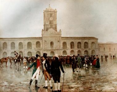 La gesta del 25 de mayo de 1810 y días subsiguientes