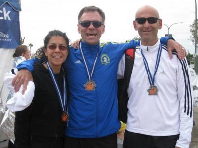 Sandra Quiroga, Gustavo Marks y Daniel Rozmaryn