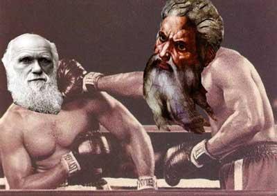 Darwin y Noé, la Biblia y el calefón