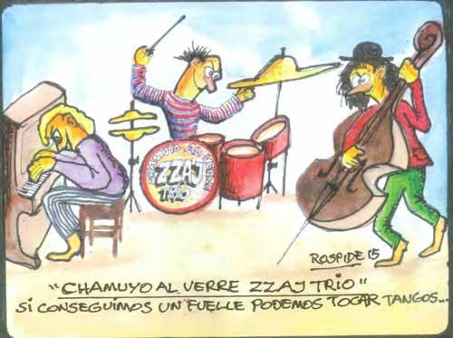 Dibujo: Oscar Rospide